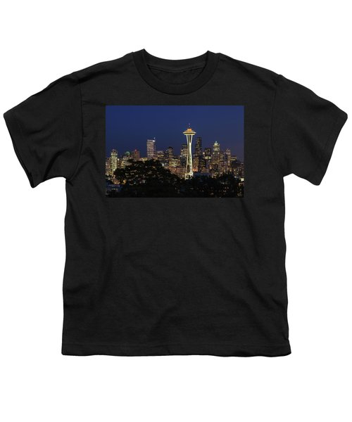 Youth T-Shirt featuring the photograph Space Needle by David Chandler