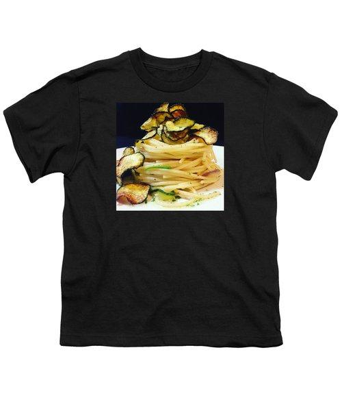 Spaghetti With Zucchini Youth T-Shirt