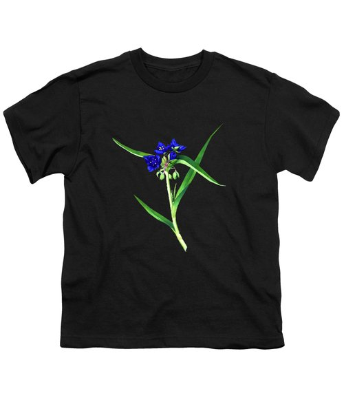 Spider Wort Youth T-Shirt