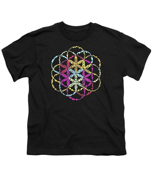Spiral Of Color Youth T-Shirt