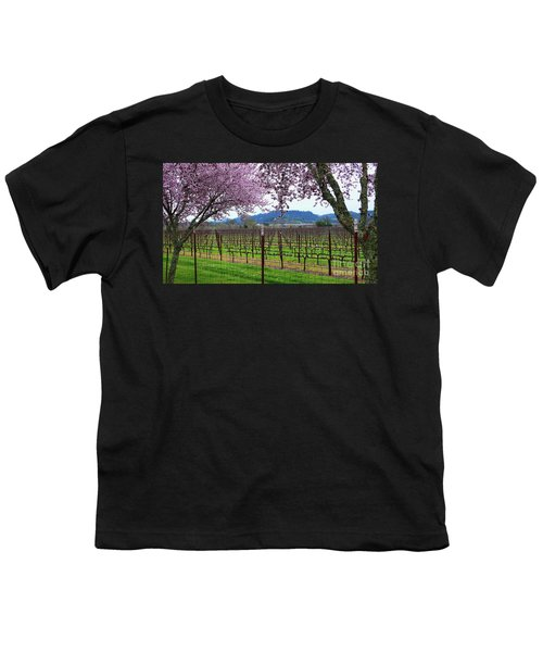 Spring Blossoms Near Calistoga Youth T-Shirt