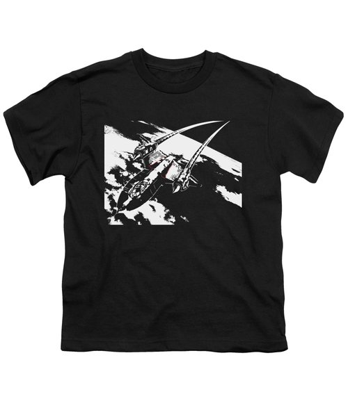 Sr-71 Flying High Youth T-Shirt by Ewan Tallentire