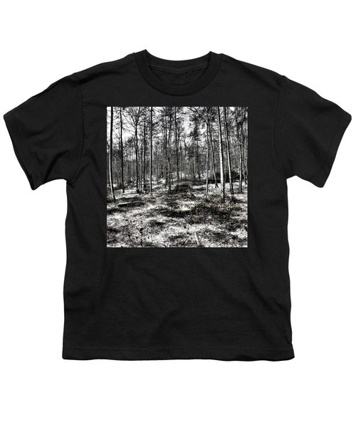 St Lawrence's Wood, Hartshill Hayes Youth T-Shirt by John Edwards