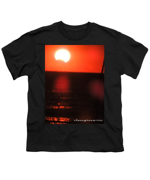 Staring Into A Star Eclipsed Youth T-Shirt