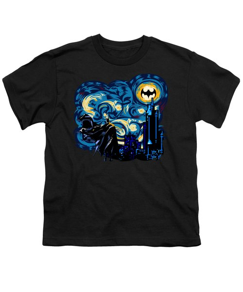 Starry Knight Youth T-Shirt by Three Second