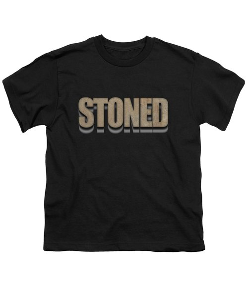 Stoned Tee Youth T-Shirt by Edward Fielding