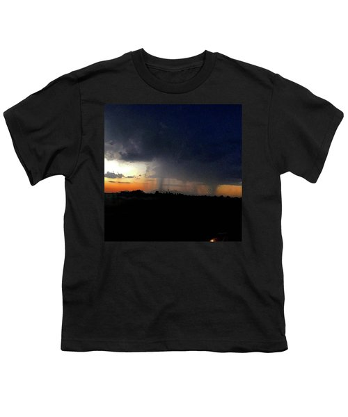 Storm Cloud Youth T-Shirt by Speedy Birdman