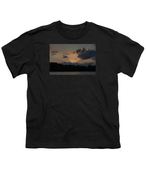Sunset Over Wilderness Point Youth T-Shirt by Gary Eason