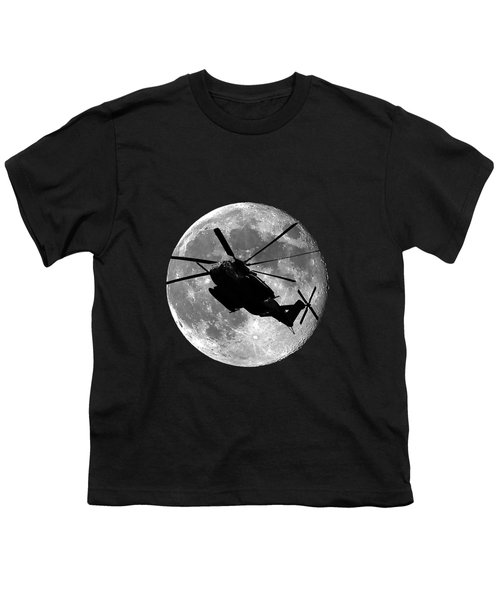 Super Stallion Silhouette .png Youth T-Shirt by Al Powell Photography USA