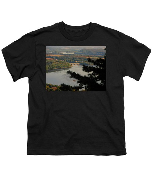 Susquehanna River Below Youth T-Shirt