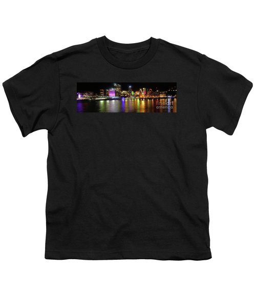 Sydney Skyline By Kaye Menner Youth T-Shirt