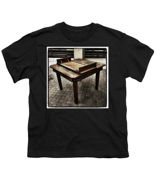 Youth T-Shirt featuring the photograph Table That Thought. This Beautiful by Mr Photojimsf