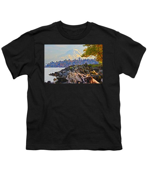 Tacoma In The Fall Youth T-Shirt