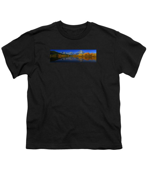 Tetons From Oxbow Bend Youth T-Shirt