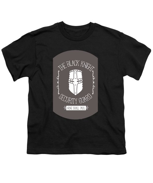 The Black Knight Youth T-Shirt by Christopher Meade