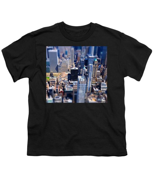 The City  Youth T-Shirt by Mckenzie Weldon