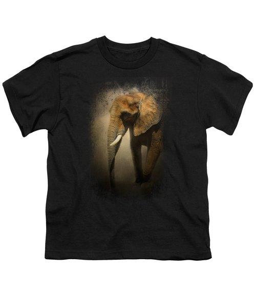 The Elephant Emerges Youth T-Shirt by Jai Johnson
