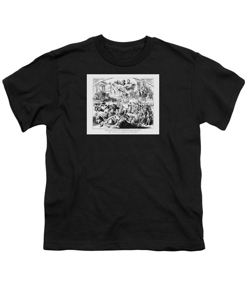 The End Of The Republican Party Youth T-Shirt by War Is Hell Store