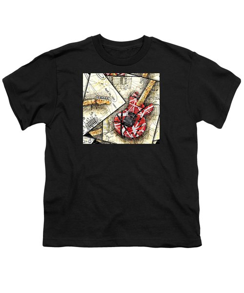 The Frankenstrat Youth T-Shirt by Gary Bodnar