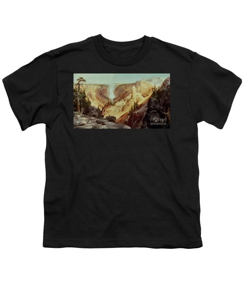 The Grand Canyon Of The Yellowstone Youth T-Shirt by Thomas Moran