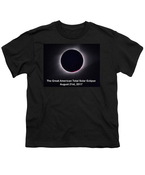 The Great American Total Ecplise T-shirt And Mug Youth T-Shirt