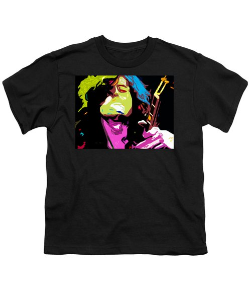 The Jimmy Page By Nixo Youth T-Shirt by Nicholas Nixo