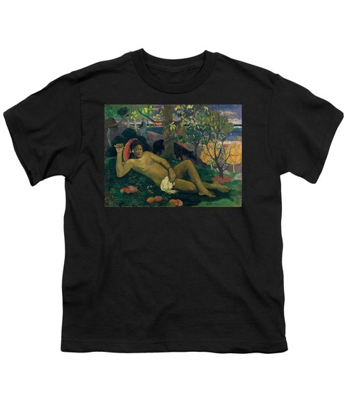 The Kings Wife Youth T-Shirt by Paul Gauguin