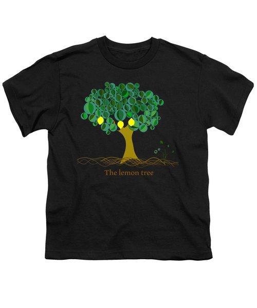 The Lemon Tree Youth T-Shirt by Alberto RuiZ