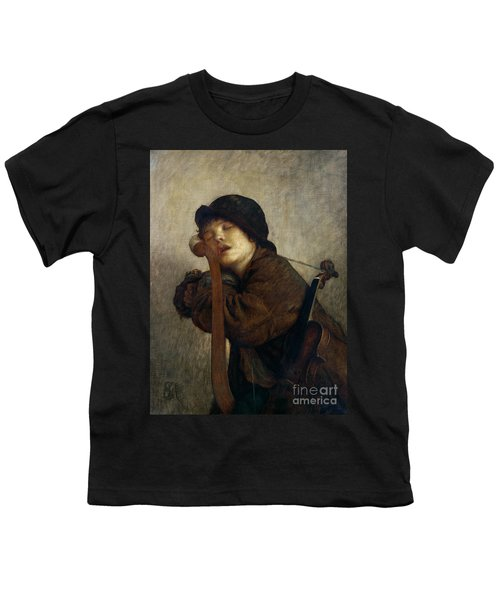 The Little Violinist Sleeping Youth T-Shirt