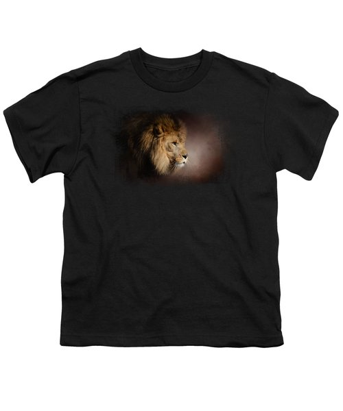 The Mighty Lion Youth T-Shirt by Jai Johnson