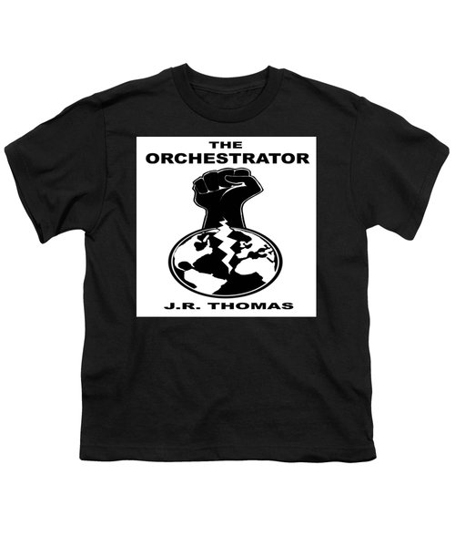 Youth T-Shirt featuring the digital art The Orchestrator Cover by Jayvon Thomas