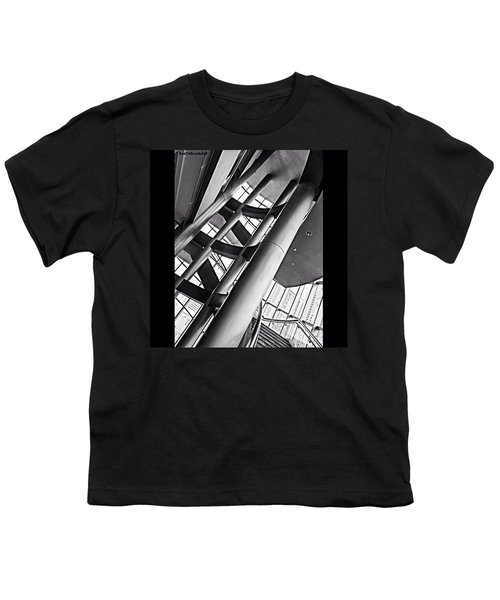 The #stairway In Our #downtown #houston Youth T-Shirt