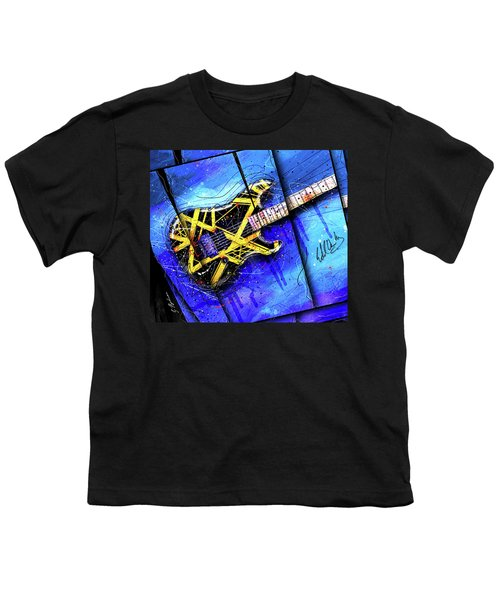 The Yellow Jacket_cropped Youth T-Shirt by Gary Bodnar