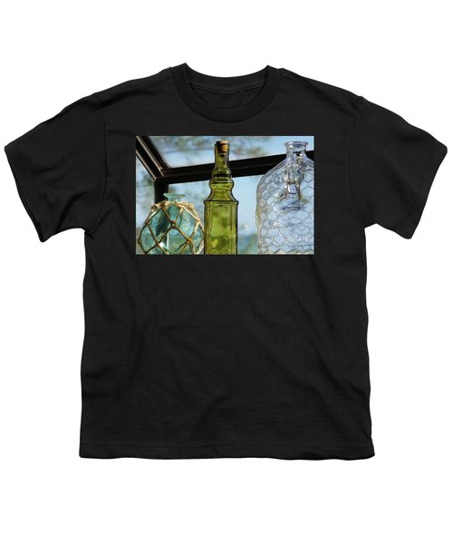 Thru The Looking Glass 3 Youth T-Shirt by Megan Cohen