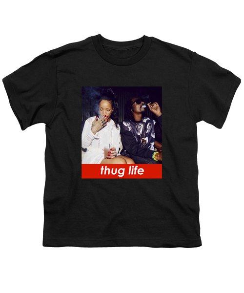 Thug Life Youth T-Shirt by Bruna Bottin