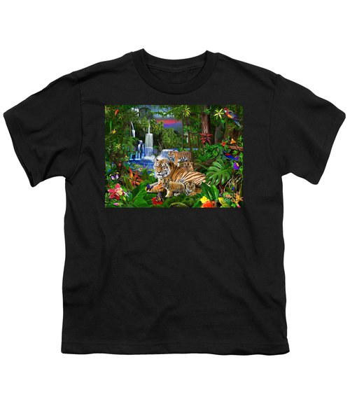 Tigers Of The Forest Youth T-Shirt