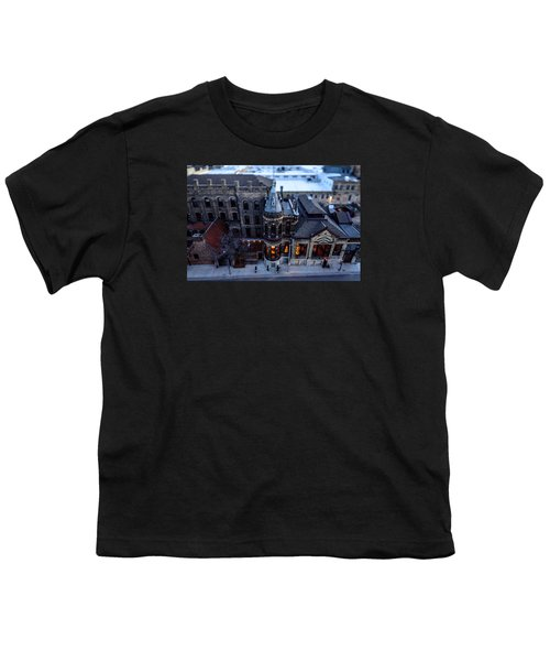 Tiny Pabst Castle Youth T-Shirt