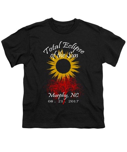 Total Eclipse T-shirt Art Murphy Nc Youth T-Shirt
