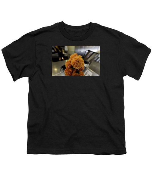Youth T-Shirt featuring the photograph Treats At The Ice Cream Parlor by Lora Lee Chapman