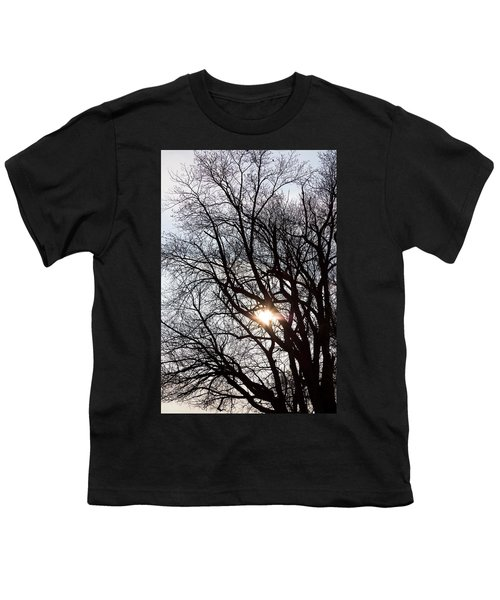 Youth T-Shirt featuring the photograph Tree With A Heart by James BO Insogna