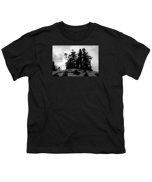 Trees Silhouettes Youth T-Shirt