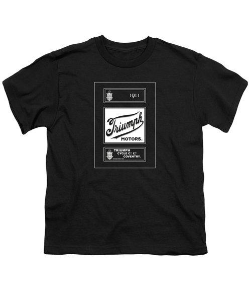 Triumph 1911 Youth T-Shirt by Mark Rogan