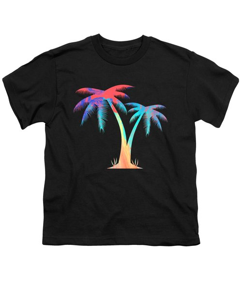 Tropical Palm Trees Youth T-Shirt