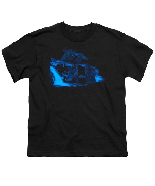 Trouble Upstream Youth T-Shirt