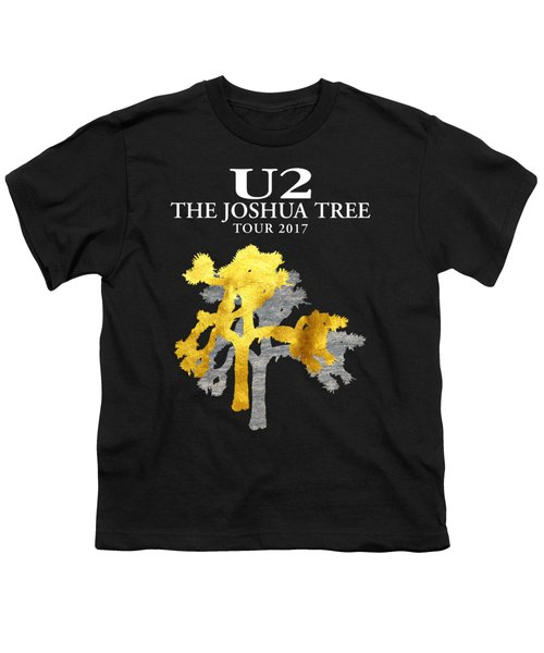 U2 Joshua Tree Youth T-Shirt by Raisya Irawan
