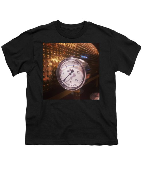 Under Pressure #coffee #cafe Youth T-Shirt