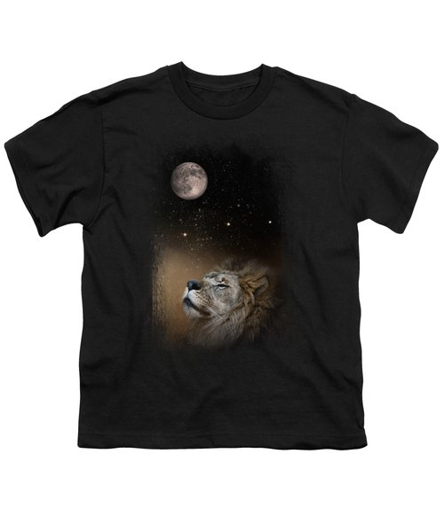 Under The Moon And Stars Youth T-Shirt by Jai Johnson