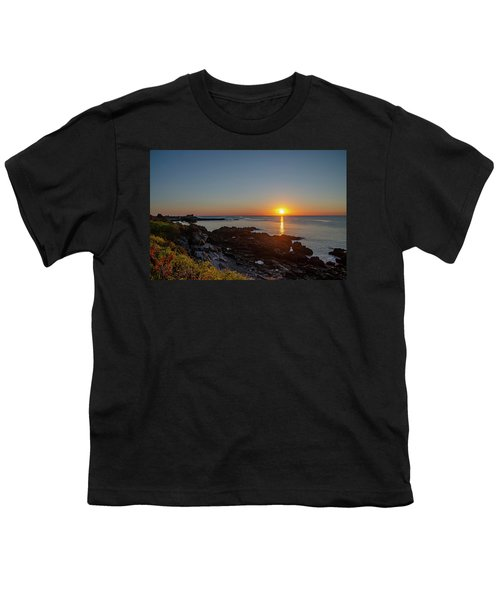 Walkers Point - Sunrise In Kennebunkport Maine Youth T-Shirt
