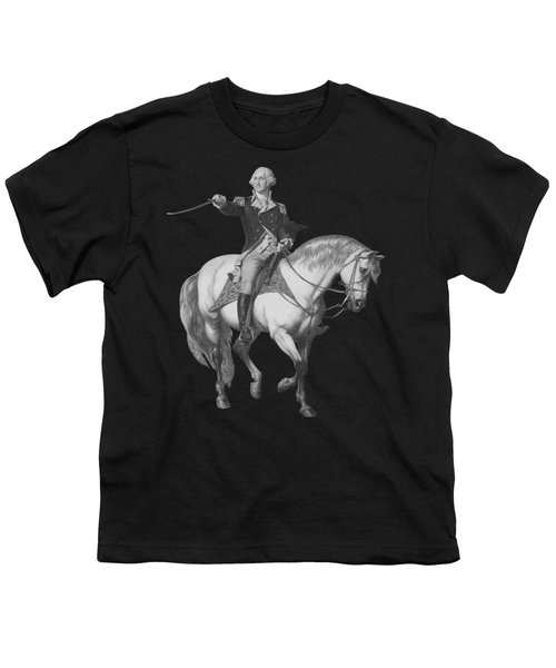 Washington Receiving A Salute At Trenton Youth T-Shirt by War Is Hell Store