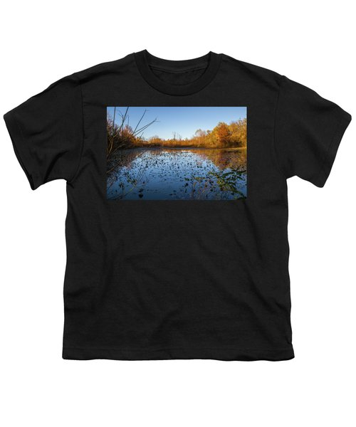 Water Lily Evening Serenade Youth T-Shirt
